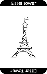 Eiffel-tower-card
